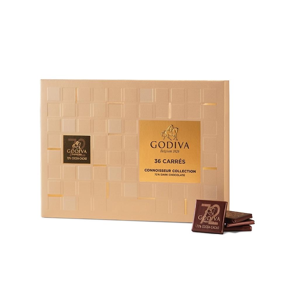 片裝72%黑巧克力禮盒 (36片裝)