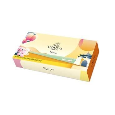 台灣風景巧克力餅乾禮盒