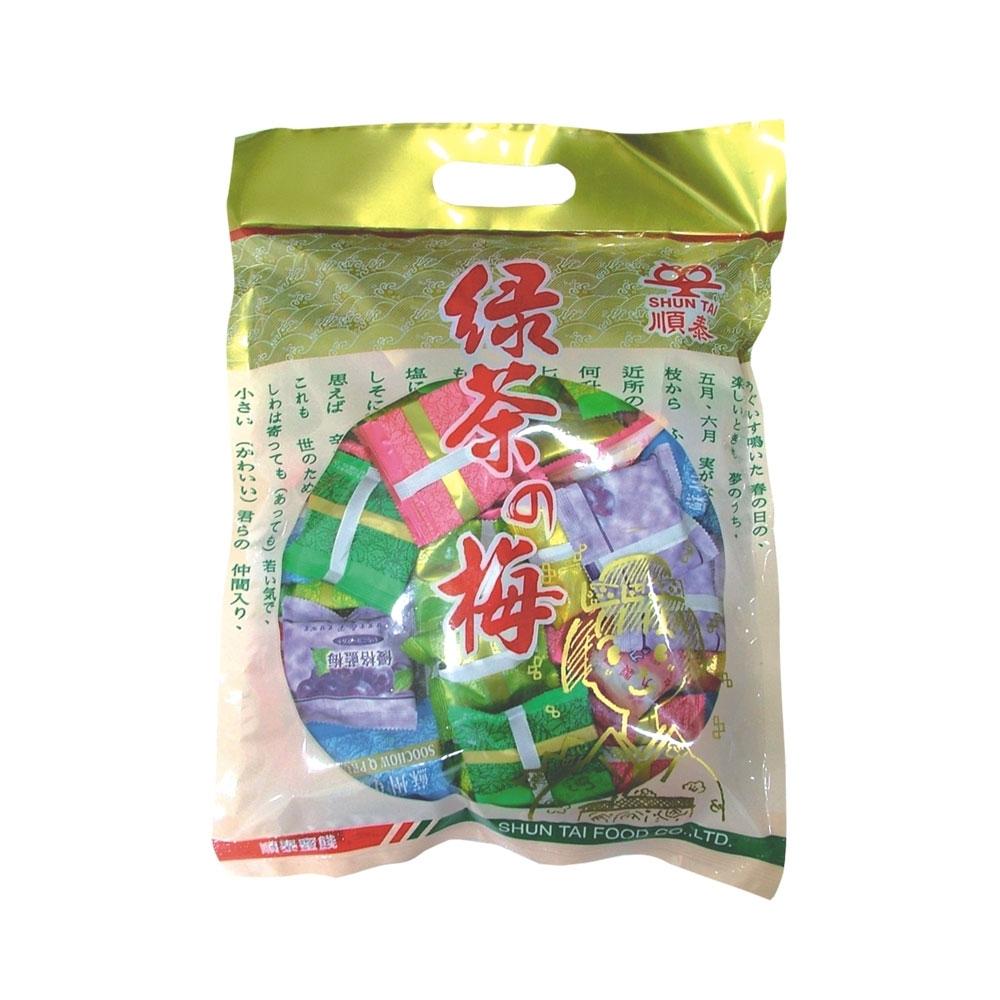 綜合綠茶梅