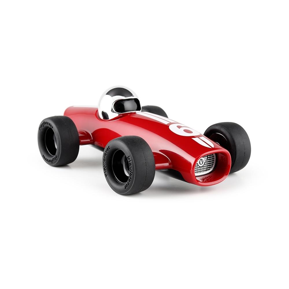 流線型F1賽車 紅