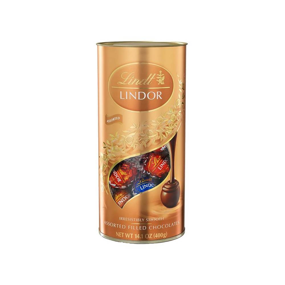 瑞士蓮LINDOR 軟心巧克力綜合筒裝 400克