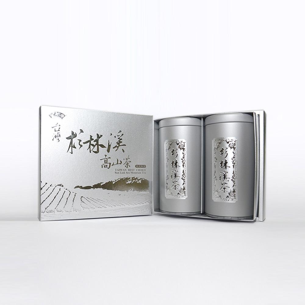 杉林溪雙罐禮盒