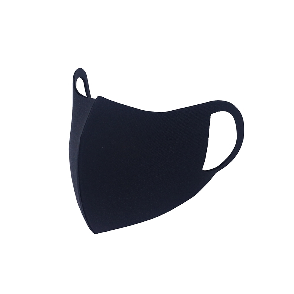 3D立體透氣口罩-純粹黑M
