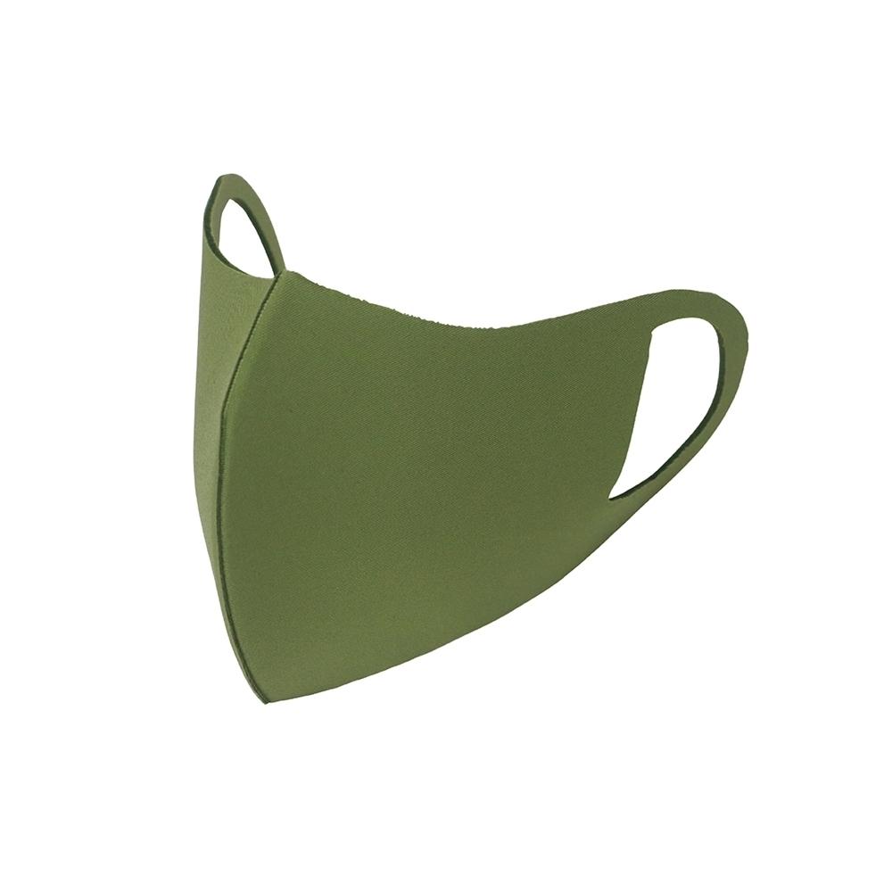 3D立體透氣口罩-抹茶綠M