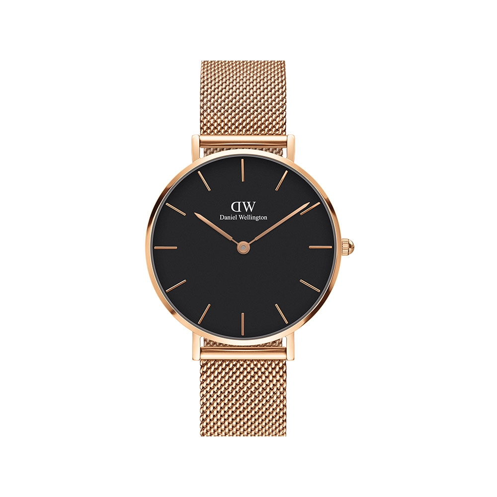 PETITE MELROSE 32MM 黑錶盤腕錶