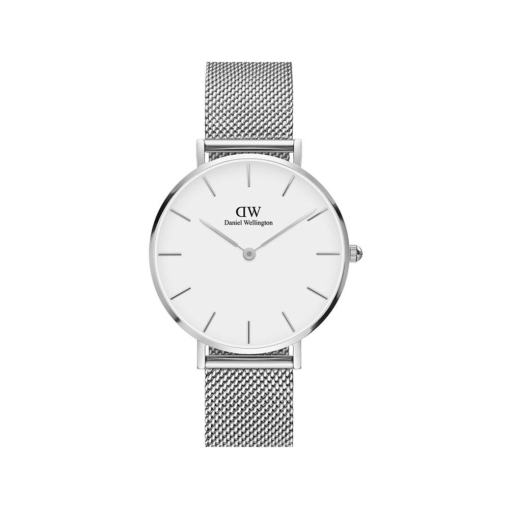PETITE STERLING 32MM 蛋殼白錶盤腕錶